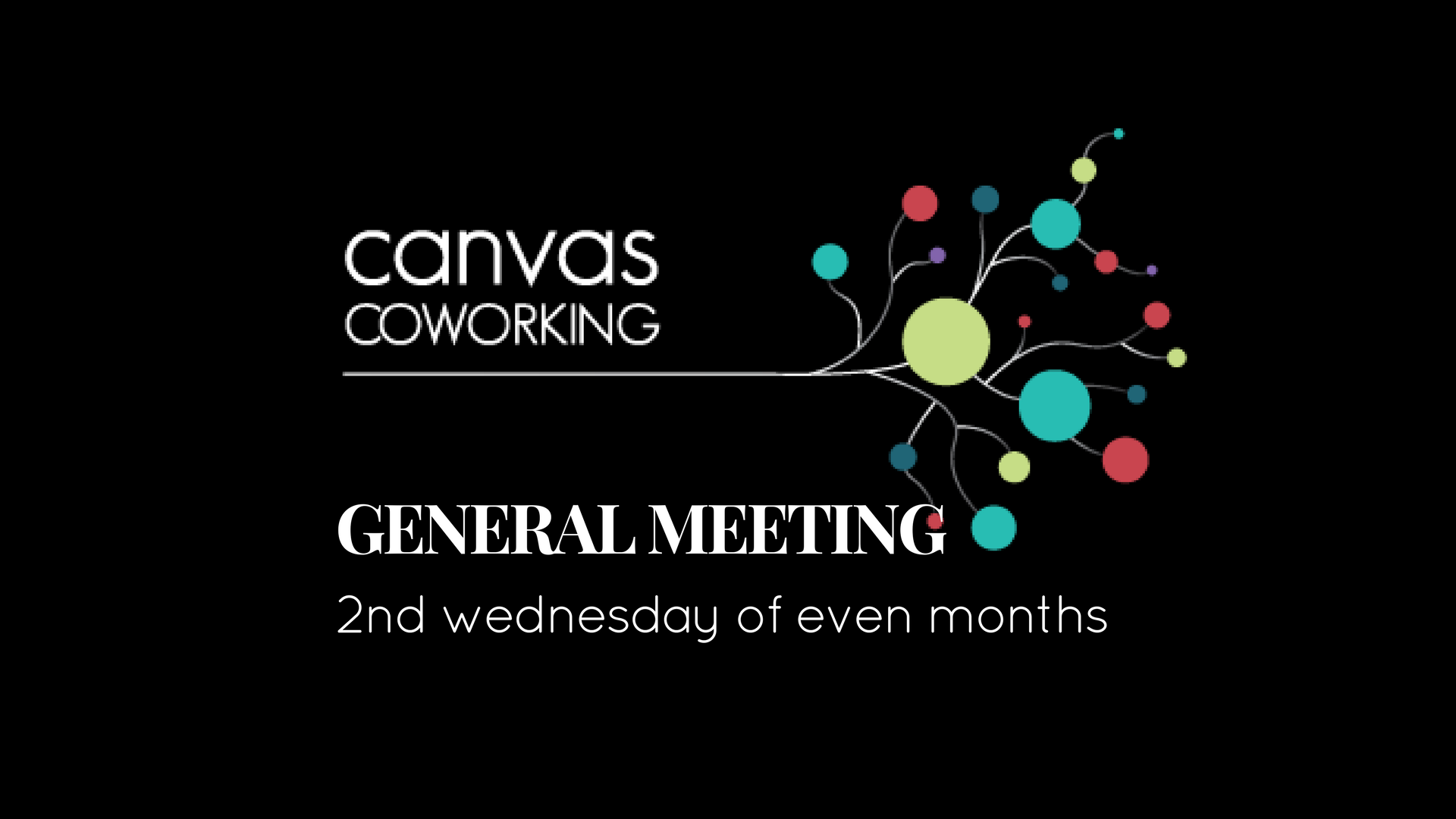 general meeting canvas coworking