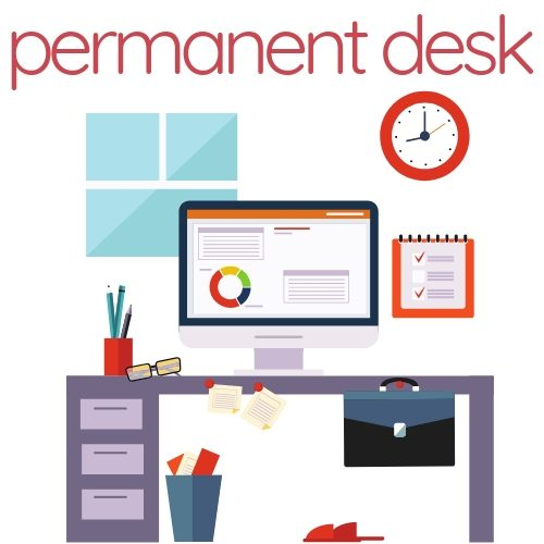 Permanent Desk at Canvas Coworking Toowoomba
