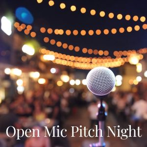 Open Mic Pitch Night at Canvas Coworking