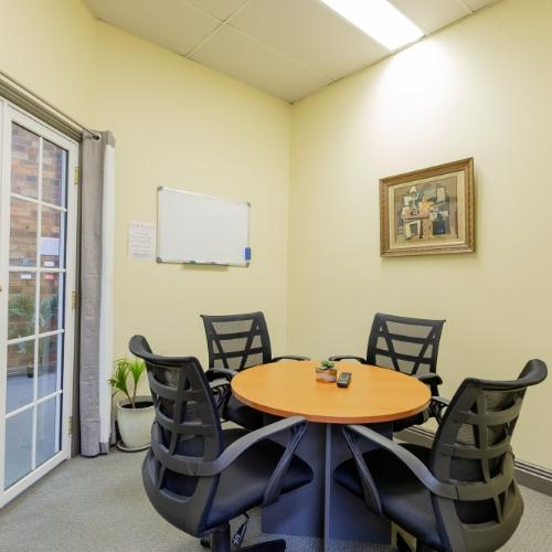 Clarkson Room, Client Meeting Room at Canvas Coworking Toowoomba