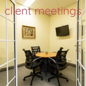 Clarkson Room - Client Meeting Room - Canvas Coworking - Toowoomba
