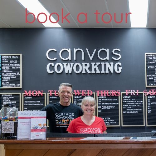 Book a tour of Canvas Coworking space in Toowoomba
