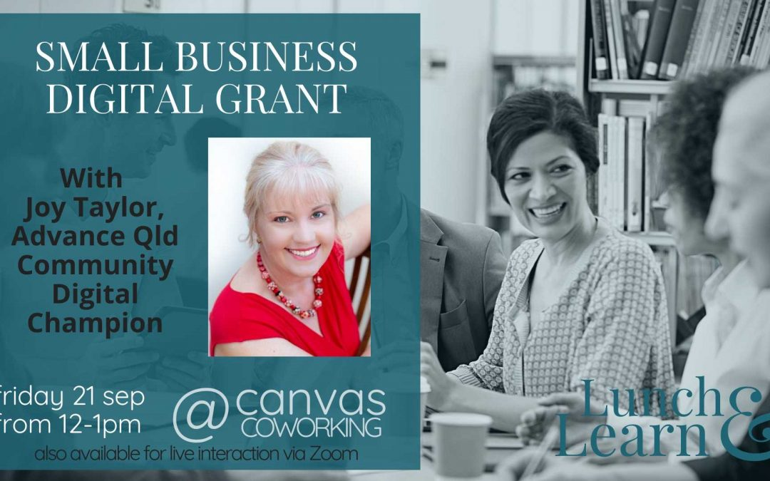 Recording – Small Business Digital Grant