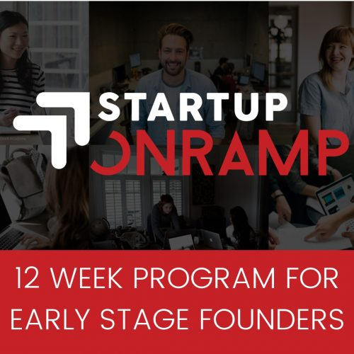 Startup Onramp 12 week course for new founders