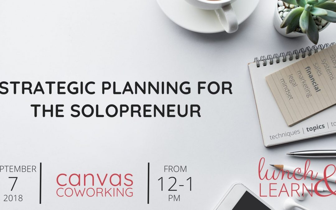 Recording – Strategic Planning for the Solopreneur