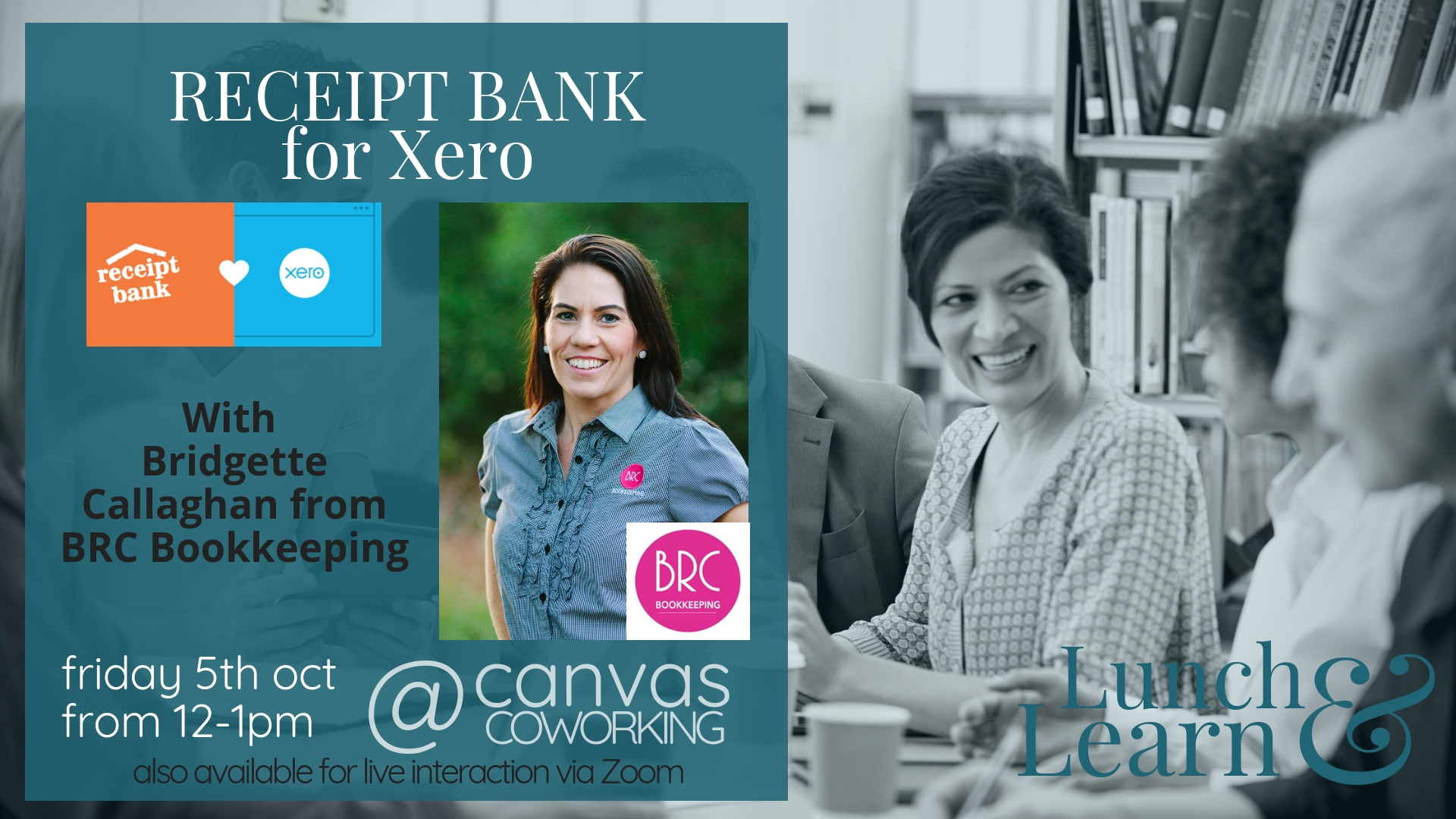 Lunch & Learn – Receipt Bank for Xero Accounting