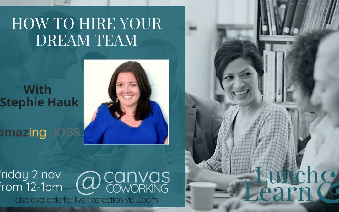 Recording – How to Hire Your Dream Team