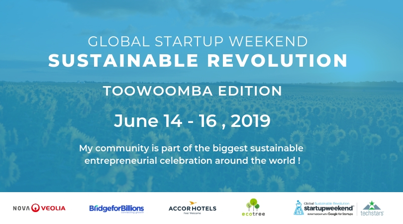 Global Startup Weekend Sustainable Revolution – Toowoomba Edition