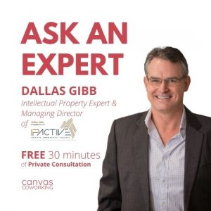 Canvas Coworking - Intellectual Property Expert - Dallas Gibb - Second Monday of the month