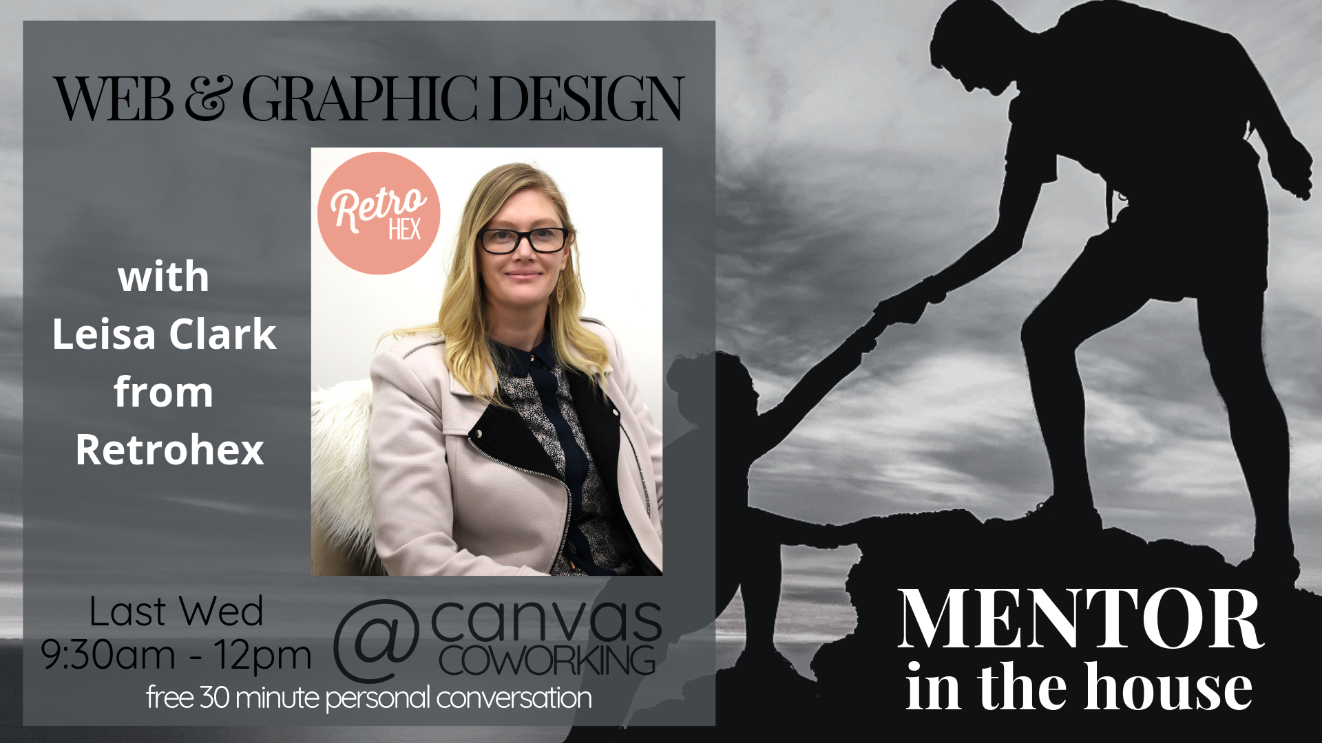 Mentor in the House – Leisa Clark – Web and Graphic Design