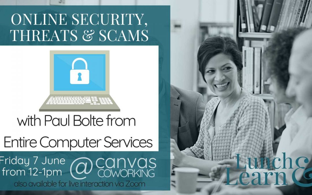 Recording – Online Security, Threats and Scams