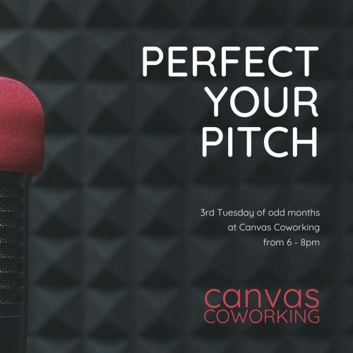 Perfect Your Pitch at Canvas Coworking Toowoomba on 3rd Tuesday of even months from 6pm