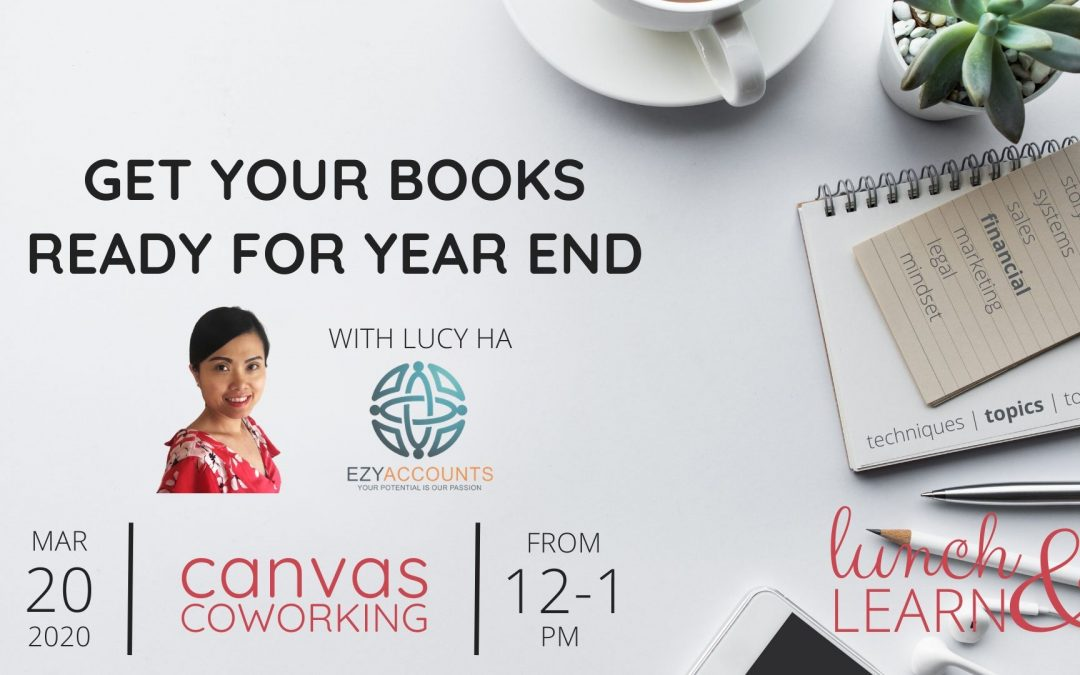 Recording – Get Your Books Ready For Year End