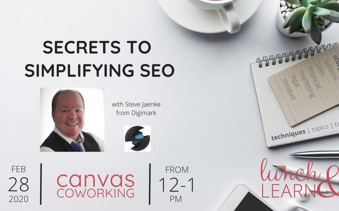 Recording – Secrets to Simplifying SEO