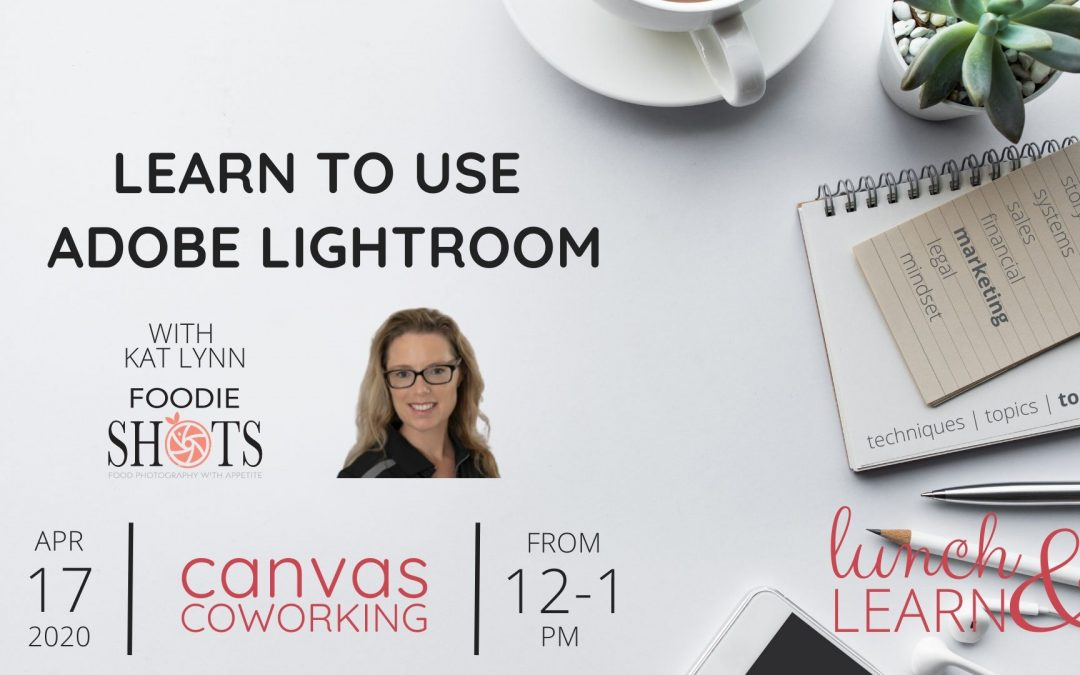 Recording – Learn to use Adobe Lightroom