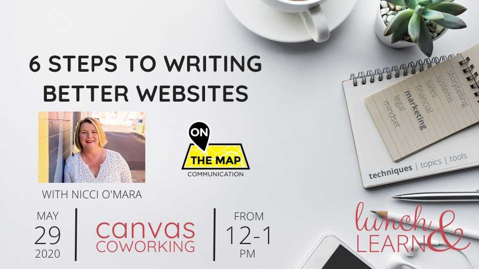 Recording – 6 Steps to Writing Better Websites