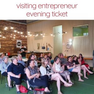 Visiting Entrepreneur Evening at Canvas Coworking