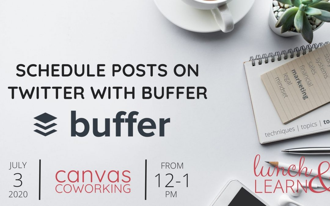 Recording – Schedule Posts on Twitter with Buffer