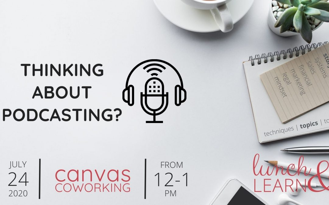 Recording – Thinking about Podcasting?