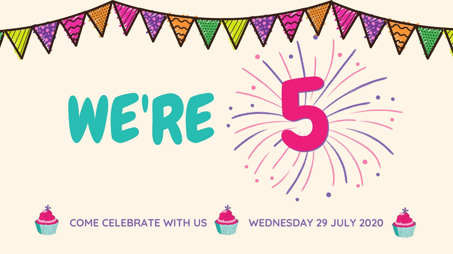 Canvas Coworking 5th Birthday - Wednesday 29 July 2020
