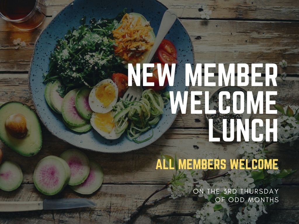 New Members Welcome Lunch