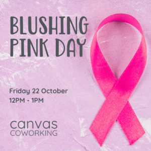 Blushing Pink Day at Canvas Coworking